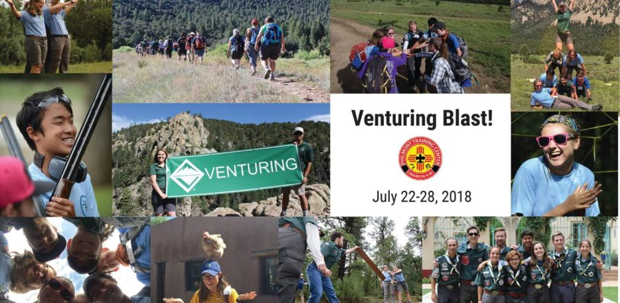 Venturing Blast! (Our First Blog Entry!)