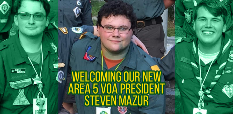 Congratulations to our new President, Steven Mazur