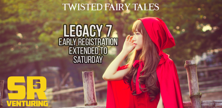 LEGACY 7 Early Registration Extended to Saturday Sept. 28