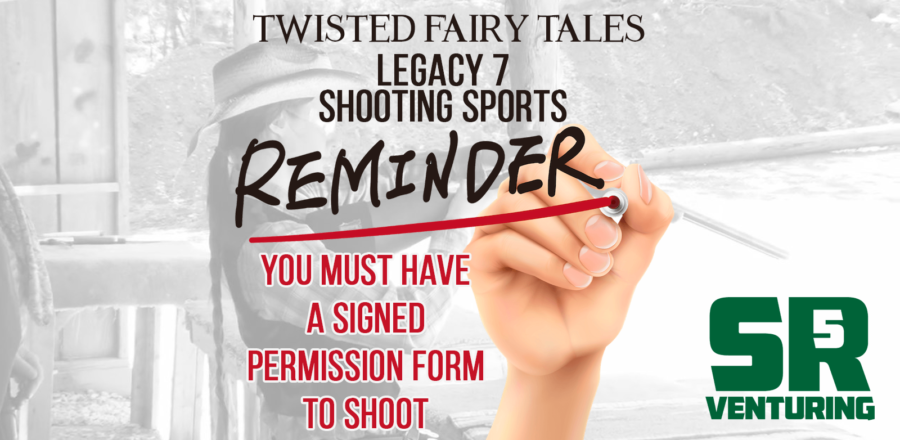Signed Permission Form Is Required For Shooting at Legacy