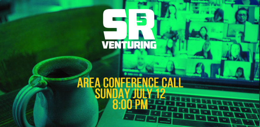 Area Call on Sunday July 12th