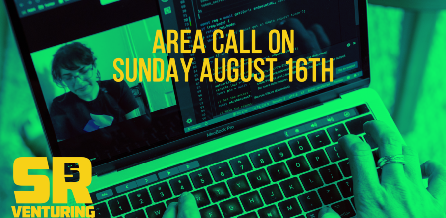 Area Call on Sunday August 16th