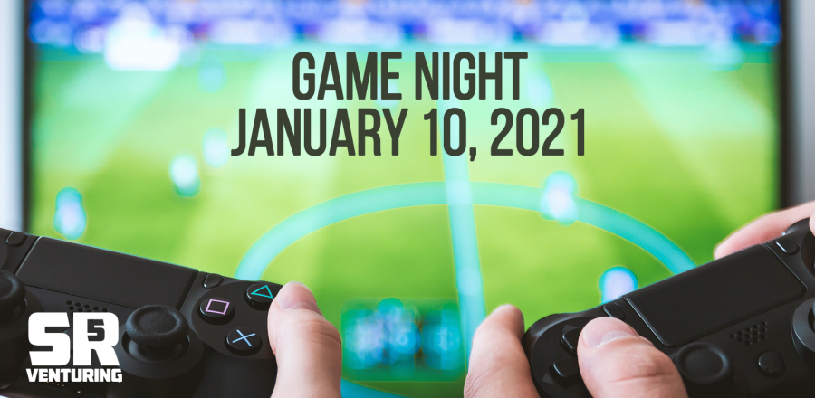 SR5 Venturing Game Night on January 10th